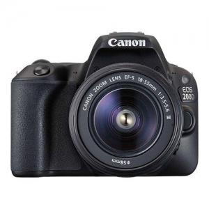 ihocon: Canon EOS 200D 24.2 MP Digital SLR Camera with 18-55mm EF-S f/3.5-5.6 Lens