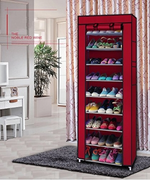 ihocon: LEADZM 10 Tiers Shoe Rack Closet 十層鞋架