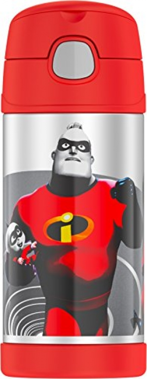 ihocon: Thermos Funtainer 12 Ounce Bottle, Incredibles 2