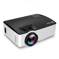 ihocon: EIVOTOR 1500 Lumens LED Projector家庭影院投影機