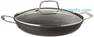 ihocon: Cuisinart 625-30D Chef's Classic Nonstick Hard-Anodized 12-Inch Everyday Pan with Medium Dome Cover