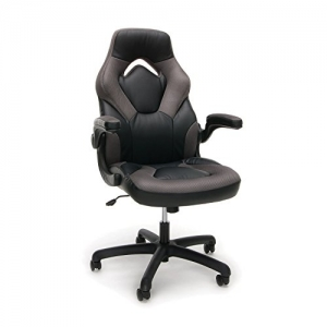 ihocon: Essentials Racing Style Leather Gaming Chair人體工程學仿皮電腦椅/辦公椅