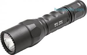 ihocon: SureFire 6PX Pro Dual-Output LED Flashlight with anodizded aluminum body, Black