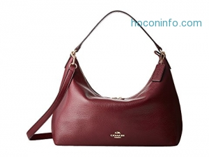 ihocon: COACH Pebbled Leather East/West Celeste Convertible Hobo