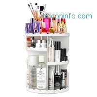 ihocon: Yuanhuihong Makeup Organizer 360-Degree Rotating旋轉化妝品及工具收納架