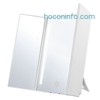 ihocon: Jerrybox Trifold LED Lighted Makeup Mirror