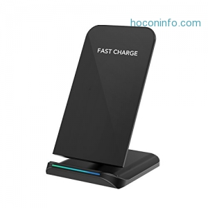 ihocon: COULAX Wireless Charger Fast Qi Wireless Charging Pad 無線充電板