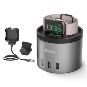 ihocon: Oittm 4 in 1 Multifunction Charing Stand 4合1Apple Watch多功能充電座 - 3色可選