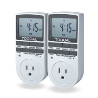 ihocon: TOGOAL TE02(DT1800) Digital Light Timer Plug with 3-prong Outlet數位定時插座2個