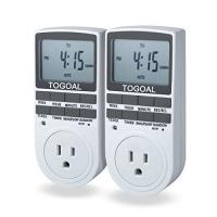 ihocon: TOGOAL TE02(DT1800) Digital Light Timer Plug with 3-prong Outlet數位定時插座2個