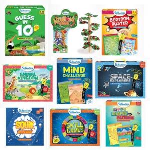 [Amazon 今日特賣] Skillmatics兒童教育性練習本及遊戲 特價優惠