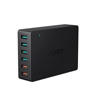 ihocon: AUKEY 6-Port USB Quick Charger快速充電器