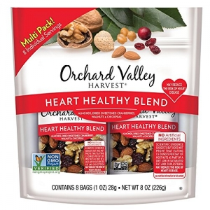 ihocon: ORCHARD VALLEY HARVEST Heart Healthy Blend, Non-GMO, No Artificial Ingredients, 1 oz (Pack of 8)