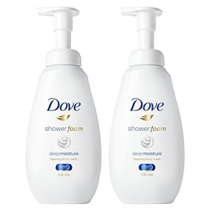 ihocon: Dove Shower Foam Deep Moisture 13.5 oz, 2 count泡沫沐浴乳2瓶