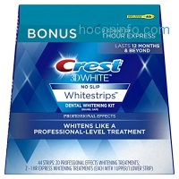 ihocon: Crest 3D 牙齒美白貼片 White Professional Effects Whitestrips Kit, 22 Treatments