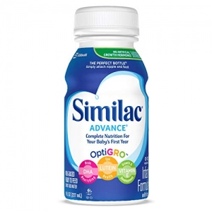 ihocon: Similac Advance Infant Formula with Iron, Baby Formula, Ready to Feed, 8 fl oz (Pack of 24)  嬰兒即食配方奶