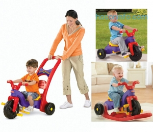 ihocon: Fisher-Price Rock, Roll 'n Ride Trike