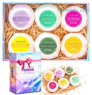 ihocon: TASEYAR Bath Bombs Gift Set 洗澡氣泡彈禮盒