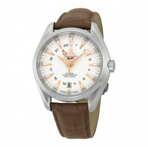 ihocon: OMEGA Seamaster Aqua Terra GMT Men's Watch 23113432202004