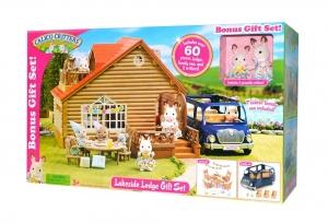 [新低價]Calico Critters Lakeside Lodge Gift Set $52.99免運(原價$96.54, 45% Off)