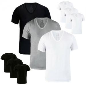 Calvin Klein 男士V領或圓領棉衫 3件$21.99免運(原價$50, 56% Off), 買2組再9折!