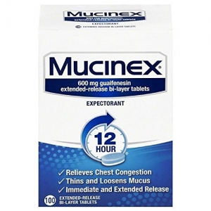 ihocon: Mucinex 12 Hour Chest Congestion Expectorant, Tablets, 100ct 祛痰劑
