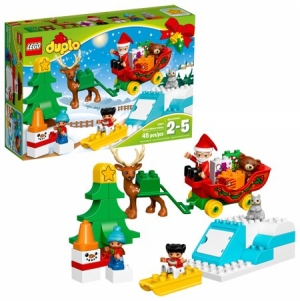 ihocon: LEGO DUPLO Town Santa's Winter Holiday 10837