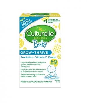 Culturelle嬰兒益生菌+維他命D 滴劑 $12.20免運(原價$15.47, 21% Off)