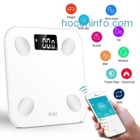 ihocon: Body Fat Scales DIKI Bluetooth Body Weight Scale體脂體重計