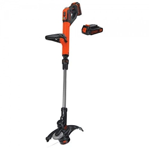 ihocon: BLACK+DECKER LSTE525 20V MAX Lithium Easy Feed String Trimmer/Edger with 2 Batteries 無線草地修邊機, 含2個電池