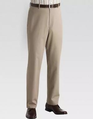 ihocon: Joseph Abboud Light Gray Essential Slim Fit Chino男士長褲