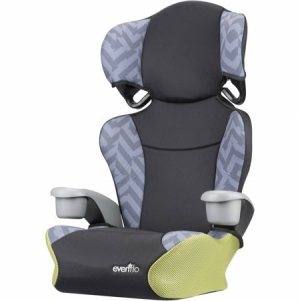 ihocon: Evenflo Big Kid Sport High Back Booster Car Seat, Goody Two Tones 高背汽車座椅