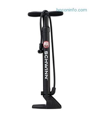 ihocon: Schwinn Bicycle Floor Pump (16-Inch)