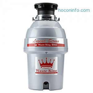 ihocon: Waste King Legend Series 1 HP Continuous Feed Garbage Disposal 廚餘處理機