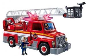 PLAYMOBIL Rescue Ladder Unit 雲梯救火車 $13.95(原價$24.99, 44% Off)