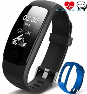 ihocon: Aneken Bluetooth Activity Tracker with Heart Rate Monitor心律監控運動手環