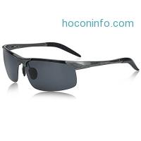 ihocon: SUNGAIT Men's Polarized Sunglasses男士偏光太陽眼鏡