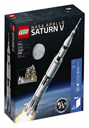 ihocon: LEGO Ideas Nasa Apollo Saturn V 21309 Building Kit (1969 Piece)