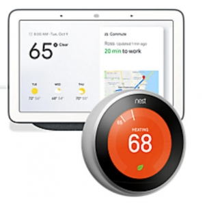 ihocon: Nest 3rd Generation Learning Thermostat (Stainless Steel)第三代室內恆温控制器 + Google Home Hub