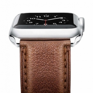 ihocon: Apple Watch Series 3/2/1/Sport真皮錶帶-多色可選