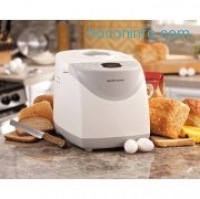 ihocon: Hamilton Beach HomeBaker 2 Pound Automatic Breadmaker with Gluten Free Setting
