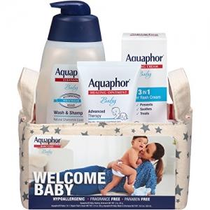 Aquaphor 新生兒禮籃 $13.99免運(原價$19.99, 30% Off)