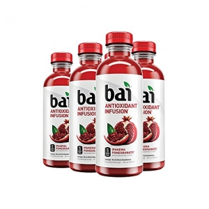 ihocon: Bai Flavored Water, Ipanema Pomegranate, Antioxidant Infused Drinks, 18 Fluid Ounce Bottles, 6 count