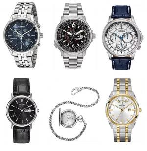 [今日特賣] Casio, Citizen, Bulova, Fossil, Timex, Emporio Armani….男錶及女錶特價$14.99起