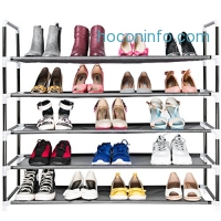 ihocon: Elvoes 5-Tier Shoe Rack 五層鞋架-可放25雙鞋