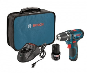 ihocon: Bosch 12-Volt Max 3/8-Inch 2-Speed Drill/Driver Kit PS31-2A with 2 Lithium-Ion Batteries, 12V Charger and Carrying Case