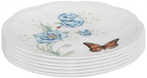 ihocon: Lenox Butterfly Meadow Party Plates, Set of 6