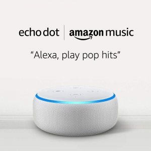 Amazon Echo Dot (3rd Gen) 才$0.99, 需訂一個月Amazon Music Unlimited (Auto-renewal)