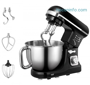 ihocon: Aicok 500W 6-Speed 5-Quart Stand Mixer