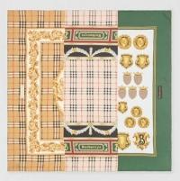 ihocon: Burberry Archive Scarf Print Silk Square Scarf